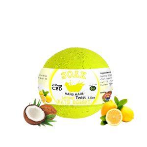 Lemon Twist Bath Bomb
